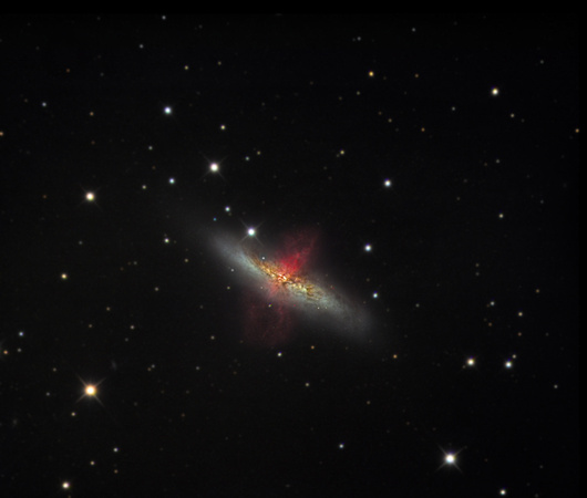 M82 - The Cigar Galaxy in Ursa Major